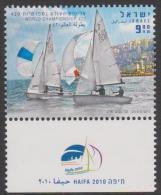 ISRAEL - Superb MNH ** With Tabs - 2010     Sailing Championships. Scott 1821 - Israel