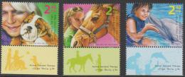 ISRAEL - Superb MNH ** With Tabs - 2009    Animal Assisted Therapy. Scott 1786-8 - Israel