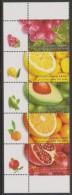 ISRAEL - Superb MNH ** With Tabs - 2009   Fruit Strip Of Three. Scott 1767 - Israel