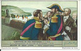 CHROMO , LIEBIG , Potage , Inauguration Du Barrage De La Gileppe (1878) , Liège - Liebig