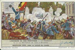 CHROMO , LIEBIG , Potage , La Révolution De 1830 à Bruxelles - Liebig