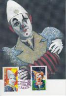 Carte Maximum  1er Jour  Le  CIRQUE    2008 - Circus