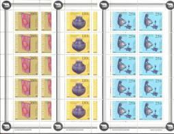 1999. Moldova, Museum, National Treasures, 3 Sheetlets Of 10v, Mint/** - Archaeology