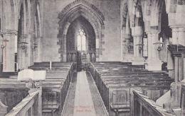 NASEBY CHURCH INTERIOR - Northamptonshire