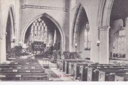 BULWICK CHURCH INTERIOR - Northamptonshire