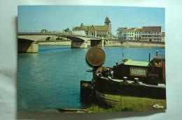 D 21 - Saint Jean De Losne - Le Pont Sur La Saône - Batellerie - Unclassified
