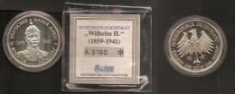 Alemania Medalla Wilhelm II Kaiser 1859 1941 - Royaux/De Noblesse