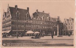 CPA - AK Gand Gent Place Ste Pharailde Ancien Hospice Wenemaer Marche Poissons Veerleplein Vischmarkt Belgien Belgique - Gent