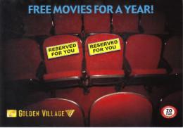 15Q : Free Movie Cinema Film Tickets For A Year, Cinema Interior Seats - Other