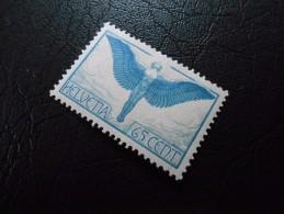 CH ZNr.10  65C**/MNH  Flugpost  1924  Z CHF 14.00 - Airmail