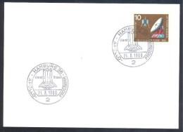Germany Deutschland 1968 Card: Space Weltraum: Wernher Von Braun Apollo Programm Cancellation - FDC & Gedenkmarken