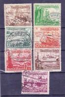 Duitsland - DEUTSCHES REICH - 1937- Y&T Nr. 594 à 602 - Used/gestempeld/obilt.:gebraucht - ° - Deutschland