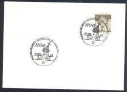 Germany Deutschland 1968 Card: Space Weltraum: HOG ERSO; NEOS A1 Satellite Telescope Cancellation - FDC & Gedenkmarken