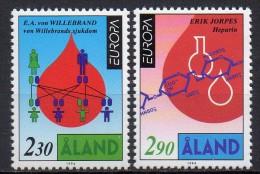 Aland - Europa - 1994 - Yvert N° 86 & 87 ** - Aland