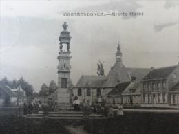"Antwerpen / Grobbendonk "" Grobbendonck, Groote Markt "" 1921"