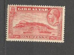 GIBRALTAR YVERT NUM. 91B ** NUEVO SIN FIJASELLOS DENT. 13,50 - Gibraltar