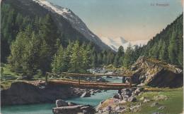 AK Im Rosegtal Val Roseg Brücke Gletscher Roseggletscher Bei Pontresina St Moritz Sils Samedan Brusio Engadin Graubünden - GR Grisons
