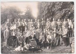 FANFARE DE LUDWIGSBURG - 1924- FORMAT 17X12 CM - Vieux Papiers