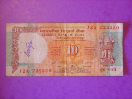Inde 10 Rupees 1992 P88 - Inde