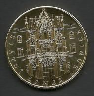 Czech Republic, Lednice, State Castle, Liechtenstein, Souvenir Jeton, Yellow - Tokens & Medals