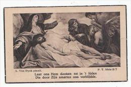 Dp. Ludovica Anna Henrica MEYERS Echtg. Verbreuken Lid Geheimen Dienst Oorlog 1914-1918 Hoogstraten 1895-1945 - Images Religieuses