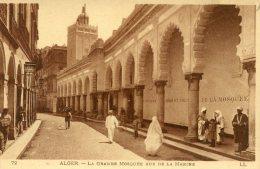 B11348 Alger -  La Grande Mosquée Rue De La Marine - Algerien