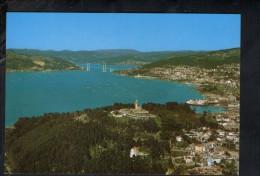 J1898 VIGO ( Galicia ) VISTA AEREA DEL MONTE DE LA GUJA Y PUNTE DE RANDE - N° 3404 POSTALES FAMA - Pontevedra