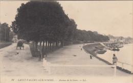 CPA Saint Valery Sur Somme, Avenue De La Gare (pk17085) - Saint Valery Sur Somme