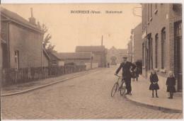 MOERBEKE -WAAS STATIESTRAAT FELDPOST 1918 Re 708 - Moerbeke-Waas