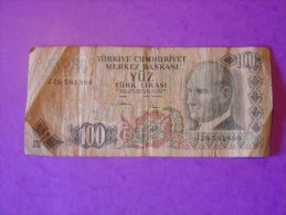Turquie 100 Lirasi 15 05 1972 P189 - Turquie