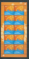Australia 2011 CHOGM Conference Single X 10 In Sheetlet Form MNH - Mint Stamps