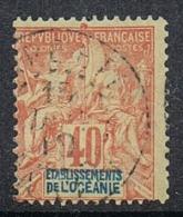 OCEANIE N°10 - Used Stamps