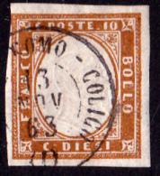 """LV Annullamenti """"NATANTE COMO-COLICO (1)"""" P.9 - Lombardo-Veneto"""