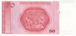 BOSNIA & HERZEGOVINA P.  77b 50 M 2008 UNC - Bosnië En Herzegovina