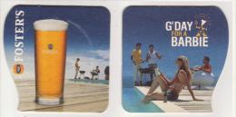 Fosters Beer Australien , G Day For A Barbie - Bierdeckel