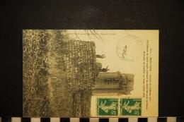 CP, 91, MONTLHERY Ruines Du Château Fort Résidence De St Louis N° VIII Voyagé En 1908 Ed Petit Laurent - Montlhery