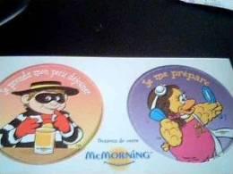 Sous Verres Mac Morning*2 Recto Verso - McDonald's