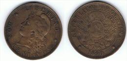 ARGENTINA 2 CENTAVOS 1890 A - Argentina