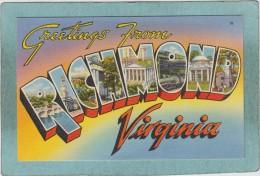 GREETINGS  FROM   RICHMOND  -  8  VIEWS  - - Richmond