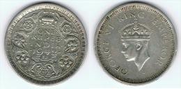 INDIA GEORGE VI 1 RUPIA RUPEE 1942  PLATA SILVER - India