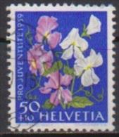 Schweiz 1959 MiNr.691 O Gest. Pro Juventute Gartenwicken ( 1686 ) - Switzerland