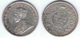 INDIA GEORGE V 1 RUPIA RUPEE 1919 PLATA SILVER - India