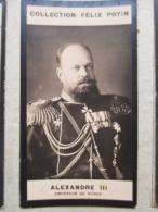 1900   Alexandre III Empereur Russe De Russie  - PHOTO  Bromure   Collection Felix POTIN - Anciennes (Av. 1900)