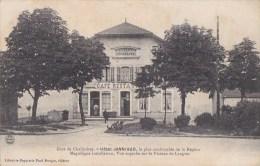 52 CHALINDREY  Coin De La GARE  Voyageur à L' Entrée Du  CAFE Restaurant  HOTEL Janniaud Timbré 1907 - Chalindrey