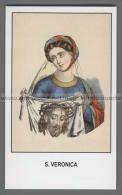 Xsa-12446 S. Santa VERONICA VELO DI LINO CON IL VOLTO DI GESU BERENICE Santino Holy Card - Religion & Esotérisme
