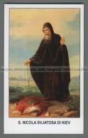 Xsa-12448 S. San NICOLA SVJATOSA DI KIEV GROTTE DI KIEV RUSSIA Santino Holy Card - Religion & Esotericism