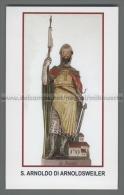 Xsa-12461 S. San ARNOLDO DI ARNOLDSWEILER GRAZ CARINZIA GENET AUSTRIA Santino Holy Card - Religion & Esotérisme