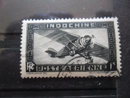 Indochine Poste Aérienne N°11 AVION Oblitéré - Flugzeuge