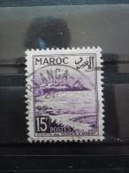 maroc N�312 POINTE des OUDAYAS oblit�r�