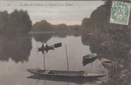 CPA Les Rives De La Marne, Pêcheurs à La Varenne (pk17098) - France